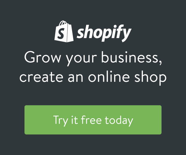 Shopify: grow your business, create an online shop. Try it free today.